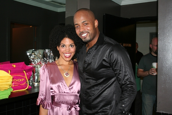 Karla Mosley and Kris Coleman   Photo