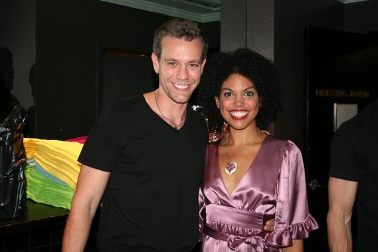 Adam Pascal and Karla Mosley