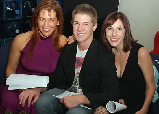 Emily Drennan, Eric Krop, and Anna Bergman   at BROADWAY LOVES JOE'S PUB