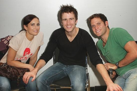 Laura Benanti, Gavin Creel, and Steven Pasquale