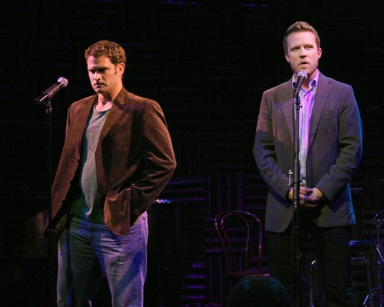 Steven Pasquale and Will Chase