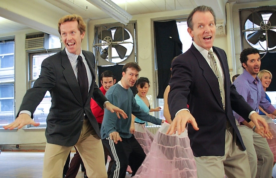 Photo Coverage: Irving Berlin's WHITE CHRISTMAS in Rehearsal