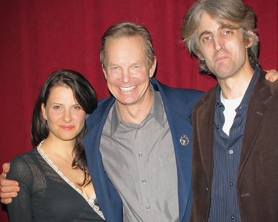 Mia Barron, Bill Irwin, and Zak Berkman   Photo