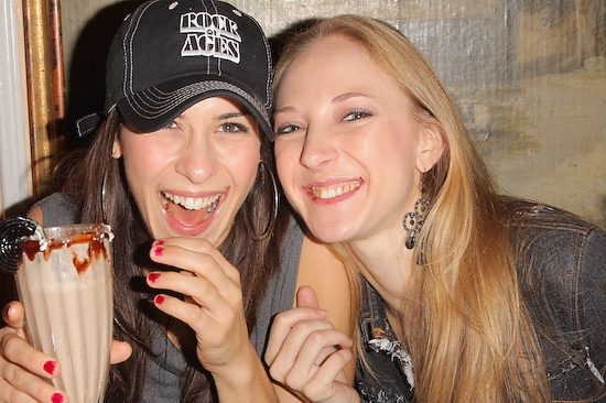 Nova Bergeron and Lara Janine
