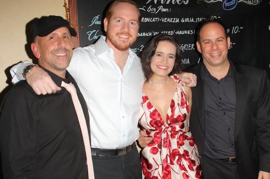 Scott Elliott, Darren Goldstein, Elizabeth Jasicki and Andy Polk