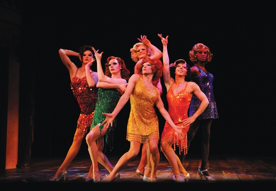Photo Flash: La Cage Aux Folles at the Playhouse Theatre