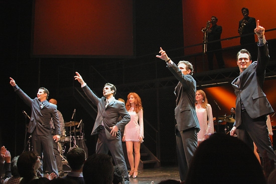 Photo Coverage: JERSEY BOYS Celebrates 3 Big Years on Broadway