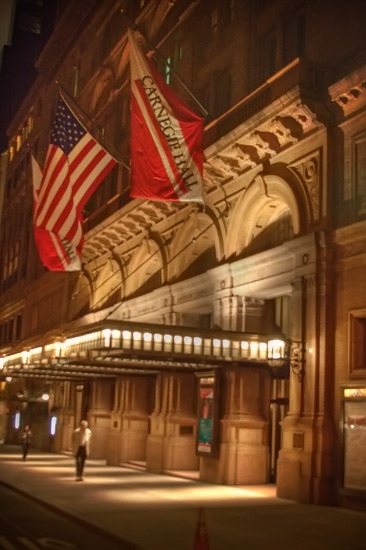 Carnegie Hall at 'A LOVE LETTER TO NEW YORK' at Carnegie Hall