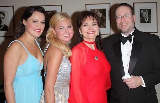 Ashley Brown, Laura Bell Bundy, Linda Hart, and Eric Stern