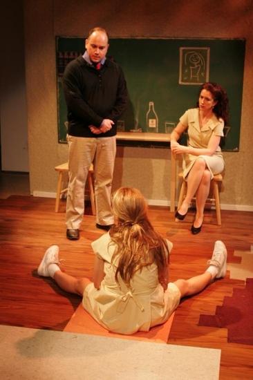 Charlie Mitchell, Laura Heidnger and Grace Gummer