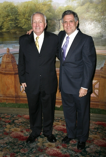 Harold G. Baldridge and Leslie Moonves