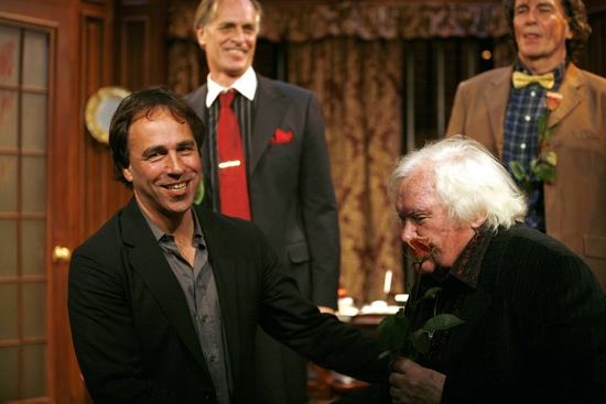 Kathleen McNenny, Keith Carradine, Lee Godart, Ken Russell and Anthony Horowitz (playwright)