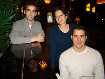 Marc Bruni (Director), Tajlei Levis (Book and Lyrics), John Mercurio (Composer) Glimp Photo