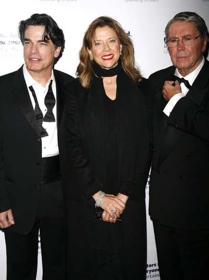 Peter Gallagher, Annette Bening and Brian Bedford