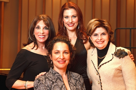 Backstage with Kate Linder, Dr. Iris Levine, Rachel York & Gloria Allred