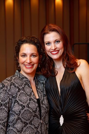 Dr. Iris Levine and Rachel York