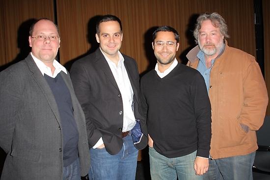 David Cote, Damian Bazadona, Mike Arauz, and Tom Hulce