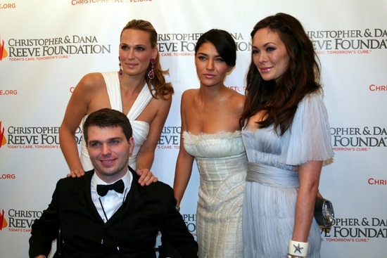 Molly Simms, Jessica Szohr, Lindsay Price and Francesco Clark