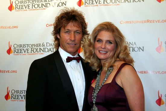 Ron Duguay and Kim Alexis