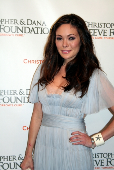 Lindsay Price at Christopher & Dana Reeve Foundation Gala