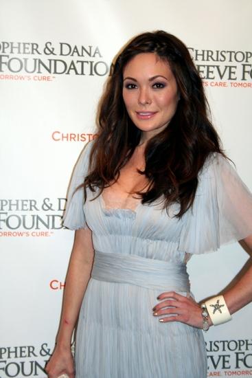 Lindsay Price at Christopher & Dana Reeve Foundation Gala
