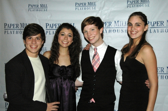 Adrian Arrieta, Krista Pioppi, Spencer Kiely and Victoria Meade