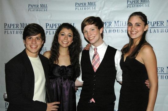 Adrian Arrieta, Krista Pioppi, Spencer Kiely and Victoria Meade