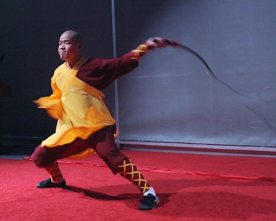 Zhang Zhigang as Naluo, the teacher Photo