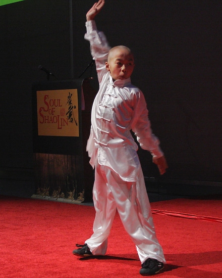 Wang Sen as young Hui Guang Photo