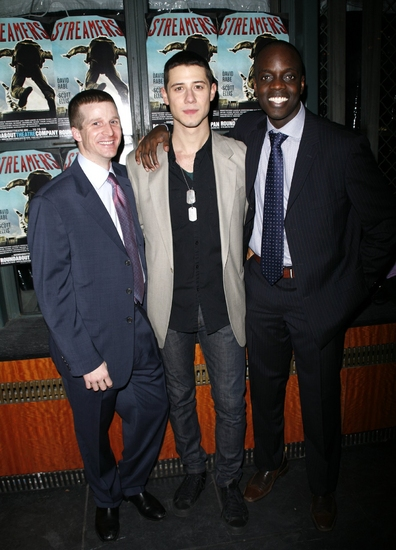 Brad Fleischer, Hale Appleman and Ato Essandoh