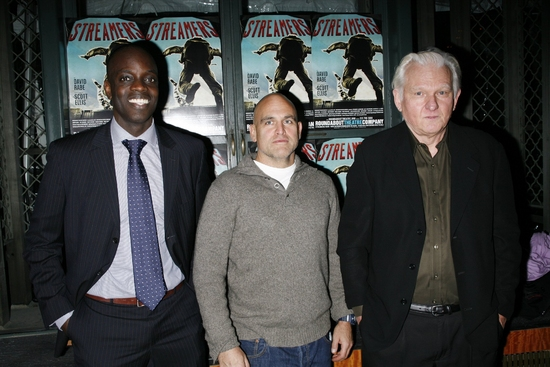 Ato Essandoh, John Sharian and David Rabe