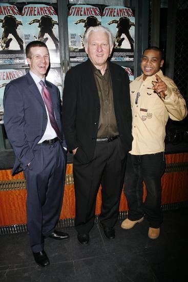 Brad Fleischer, David Rabe and J.D. Williams