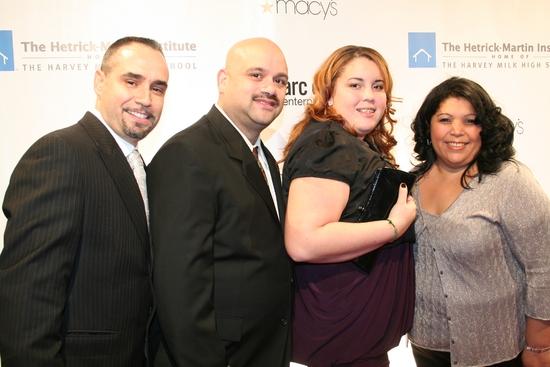 Thomas Krever, Ruben Figuroa, Judith Torres and Daisy Figuroa Photo