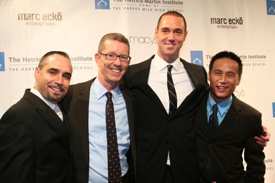 Thomas Krever, Peter Wilson, Rob Smith and B.D. Wong Photo