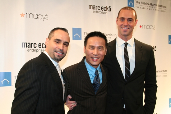 Thomas Krever, B.D. Wong and Rob Smith