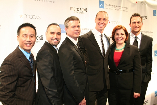 B.D. Wong, Thomas Krever, O'Brien Kelley (Co-Chair, Board of Directors), Rob Smith, Christine C. Quinn and Cheyenne Jackson