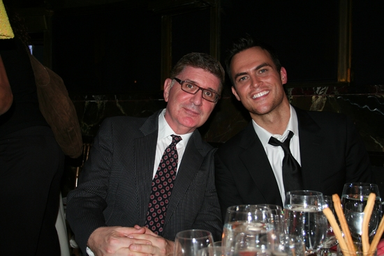 Pete Sanders and Cheyenne Jackson