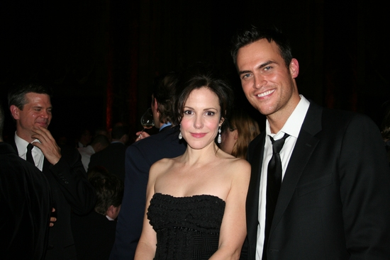 Mary-Louise Parker and Cheyenne Jackson
