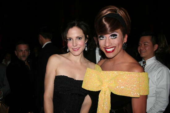 Mary-Louise Parker and Bianca Del Rio