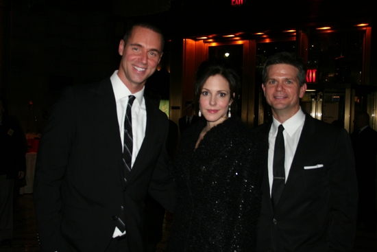 Rob Smith, Mary-Louise Parker and O'Brien Kelley