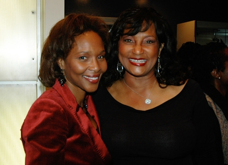 Suzzanne Douglas visits friend of It Ain't Nothin But The Blues star Eloise Laws