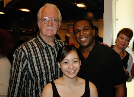 Director Randy Mylar and Stage Managers Gemini Quintos and Brian Westmoreland