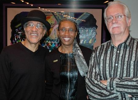 Mississippi Charles Bevel, Group Sales Director Eloise Robinson and Director Randal Mylar