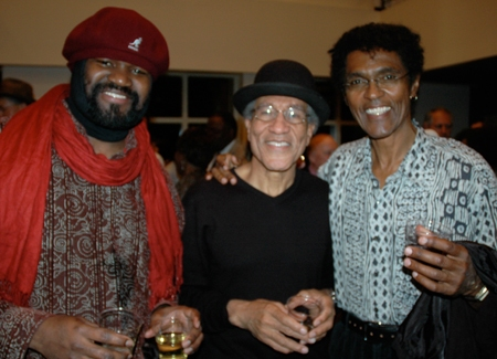 Cast members Gregory Porter, Mississippi Charles Bevel and Chic Street Man