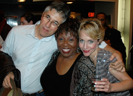 Cast members Dan Wheetman, Sandra Reaves-Phillips and Carter Calvert