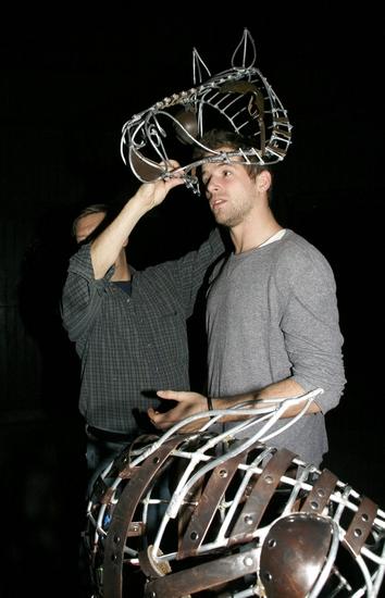 Mike Smanko and Collin Baja