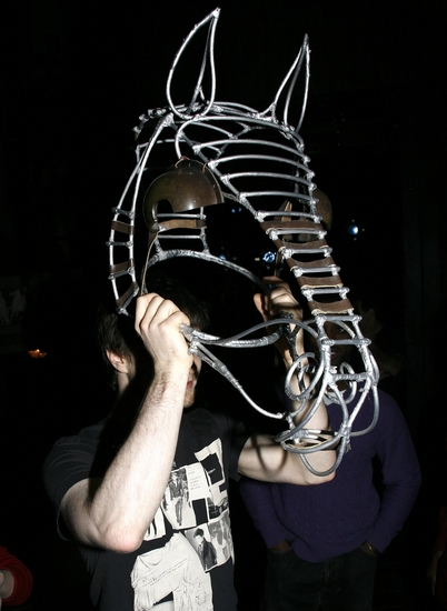 Photo Coverage: EQUUS Unveils Original 'Horse Head' Prop