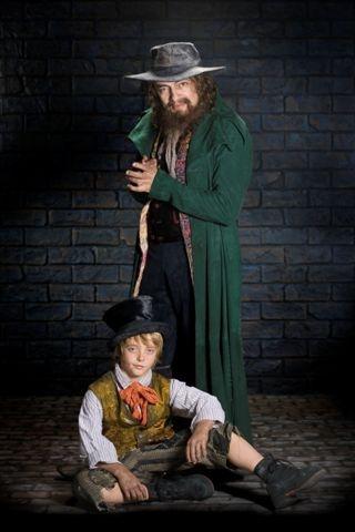 Rowan Atkinson and Eric Dibb Fuller Photo