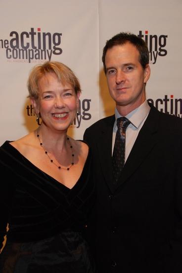 Harriet Harris and Matt Sullivan Photo