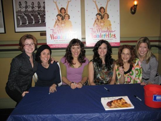 Melissa Robinette, Beth Malone, Farah Alvin, Victoria Matlock, Bets Malone and Lauren Pastorek